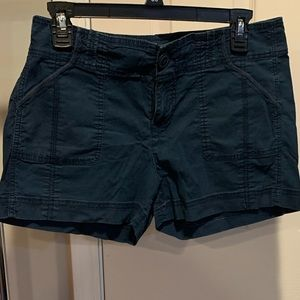 Old Navy Distressed navy shorts